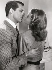 """Cary Grant and Ingrid Bergman star in the 1946 Alfred Hitchcock thriller """"Notorious."""""""