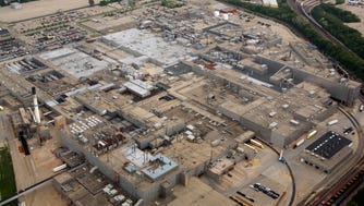 The 4.8 million-square-foot GM Janesville assembly plant on June 3, 2008.