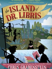 "The cover of Chris Grabenstein's ""The Island of Dr."