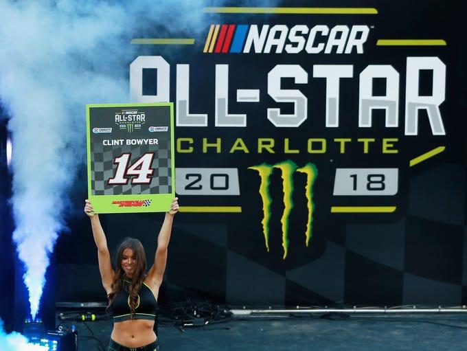 The 2018 Monster Energy NASCAR All-Star Race took place