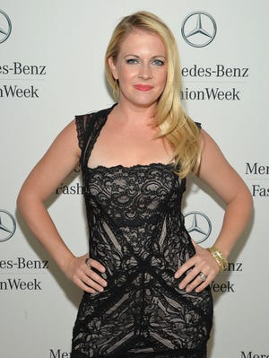 Melissa Joan Hart, shown on Sept. 7, has a  tell-all memoir, 'Melissa Explains It All,' which details past drug use and partying. The book  is out Oct. 29.