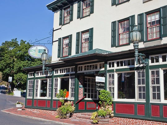 Established in 1727 as an inn, The Logan Inn is one