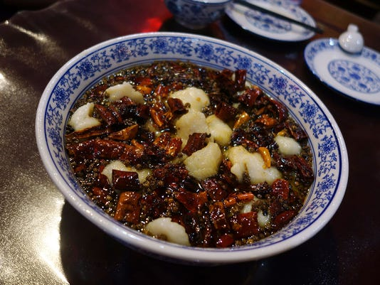 New school Sichuan fish fillets at Tang Dynasty