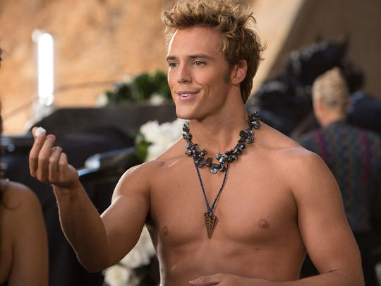 This image released by Lionsgate shows Sam Claflin