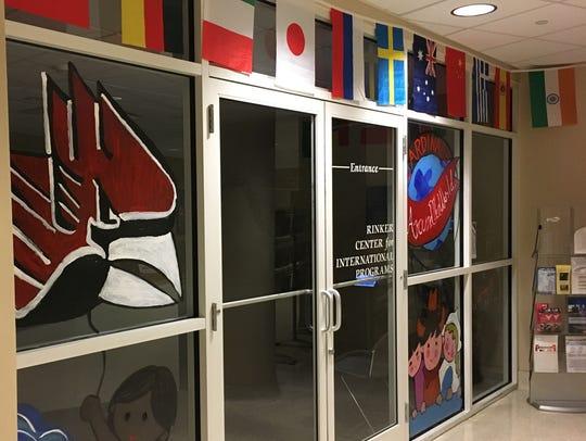 Ball State's Rinker Center for International Programs.