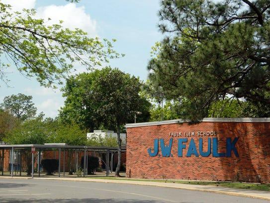 J.W. Faulk Elementary School in Lafayette.