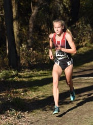 North Rockland's Katelyn Tuohy leaves the competition