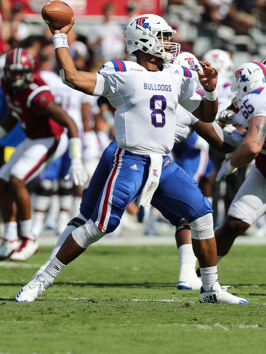 NCAA Football: Louisiana Tech at South Carolina