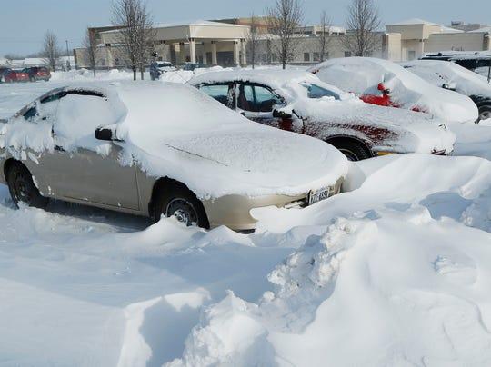 car snow