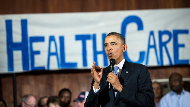 President Obama speaks in Dallas on Nov. 6 about the Affordable Care Act.