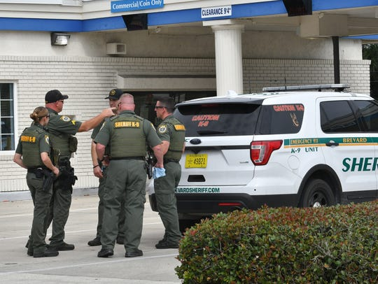 Space Coast Credit Union in Port St. John was robbed on Feb. 14.