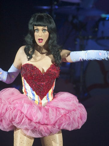 FILE - OCTOBER 09: Singer Katy Perry will perform the