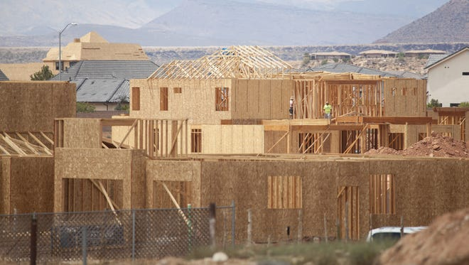 The majority of growth in the St. George metro area in 2017 came from people moving in, according to Census estimates released March 22, 2018.