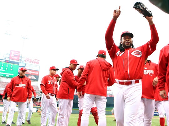 Johnny Cueto will be making his first All-Star appearance.