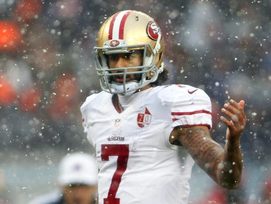USP NFL: SAN FRANCISCO 49ERS AT CHICAGO BEARS S FBN USA IL