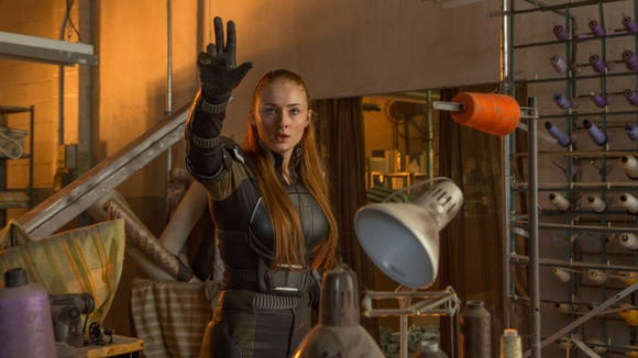 Jean Grey (Sophie Turner) does more than just levitate