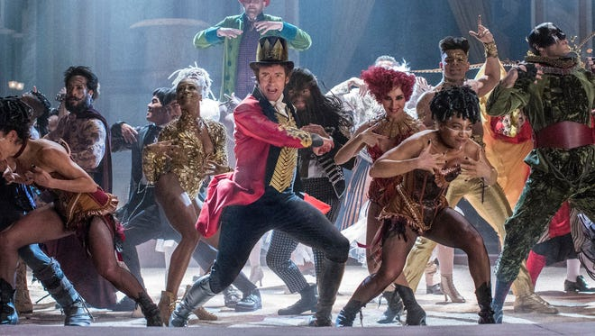 Hugh Jackman, as P.T. Barnum, is the ringleader in 'The Greatest Showman.'