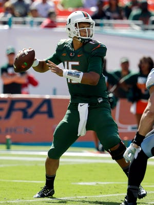 Miami quarterback Brad Kaaya could be the real deal. He'll be a sophomore this season. He and the Hurricanes could surprise some folks, but they'd likely have to be a top-10 team for him to get to New York.