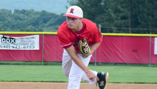 Sophomore Elijah Dunlap, whose superb pitching effort Saturdaysparked Riverheads to its second state title in five years, was named Tuesday to the first team of the VHSL Class 1 All-State Baseball Team.