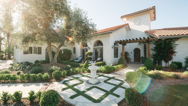 A beautiful medley of Mediterranean charm and California living make this home special.