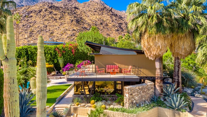 The Alexander House in Palm Springs is on the market for $2.8 million.