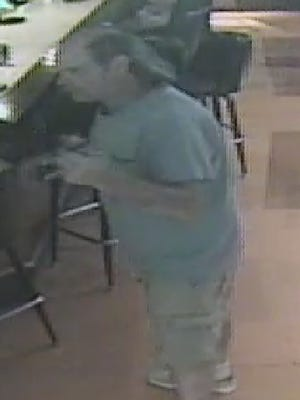 The suspect in an assault at Midway Tavern on June 13, 2018.