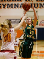 Emma Fisher's role expanded as a junior and she led Benton Central to a sectional title.
