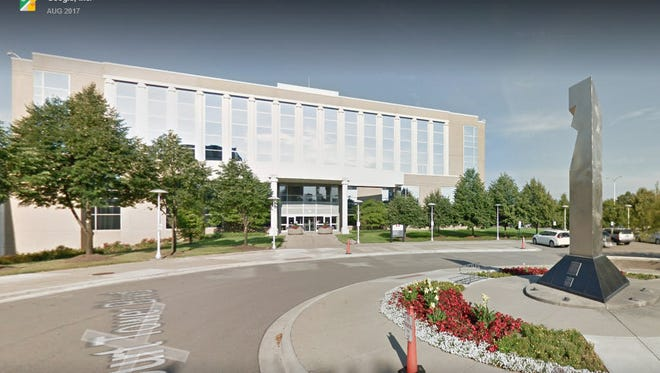 The Oakland County Materials Management building was briefly closed April 19 after workers found a package they found suspicious.