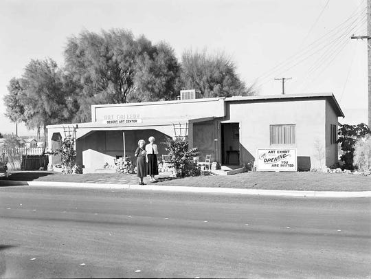 The Desert Art Center in Cathedral City, c. 1949.
