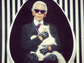 Fashion industry heavyweight Karl Lagerfeld has an Instagram page dedicated entirely to his posh kitty, Choupette. Here, the pair look every bit the style royalty that they are.