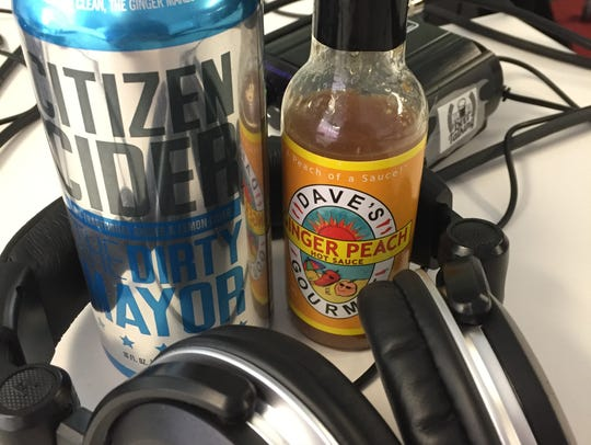 Citizen Cider's The Dirty Mayor and Dave's Gourmet