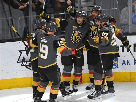 NHL: New York Rangers at Vegas Golden Knights