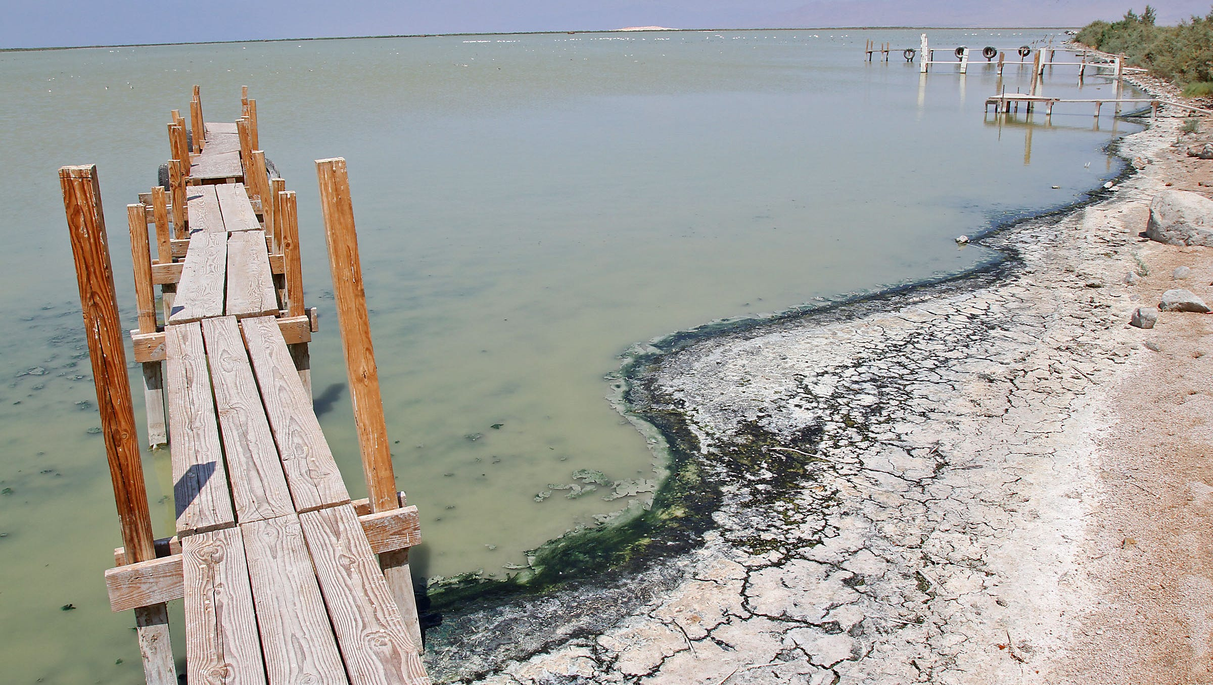 California's Dying Sea: Timeline: A history of broken promises