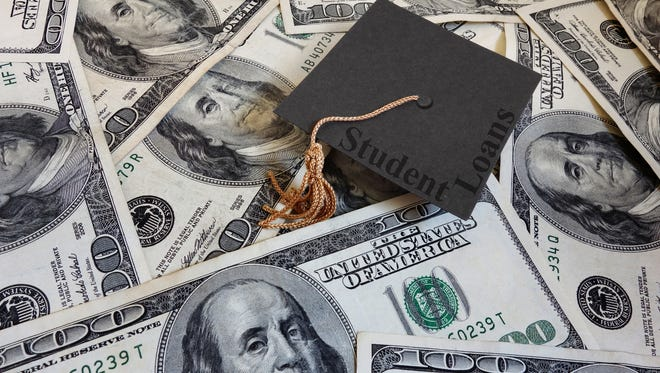 Some 68% of students still graduate school with student loan debt, at an average of $30,000.