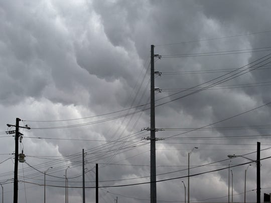 Strong storms and wind are expected to move through East Tennessee.