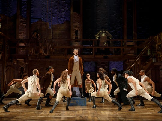"""The Wharton Center at Michigan State University in East Lansing will host """"Hamilton"""" shows from May 14 to June 2."""