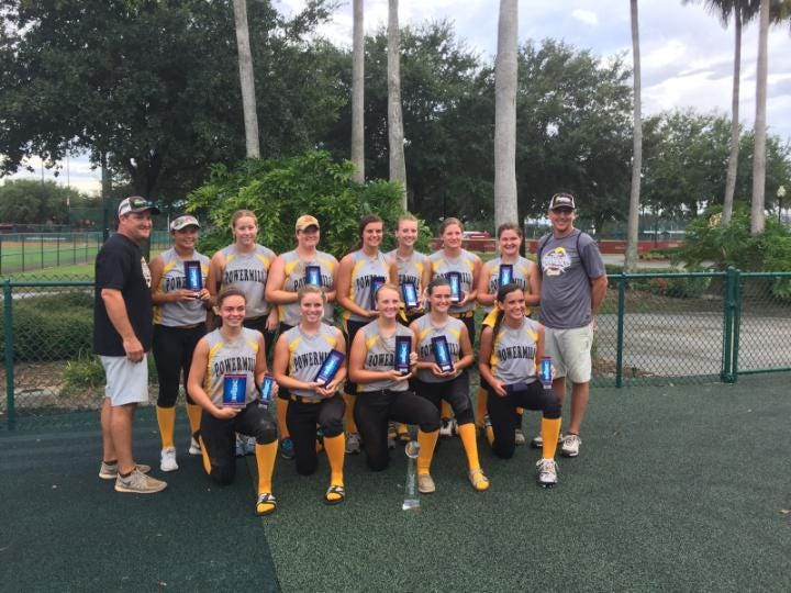 The Powermill 16U girls softball team captured runner-up at the USSSA World Series in Orlando this weekend.