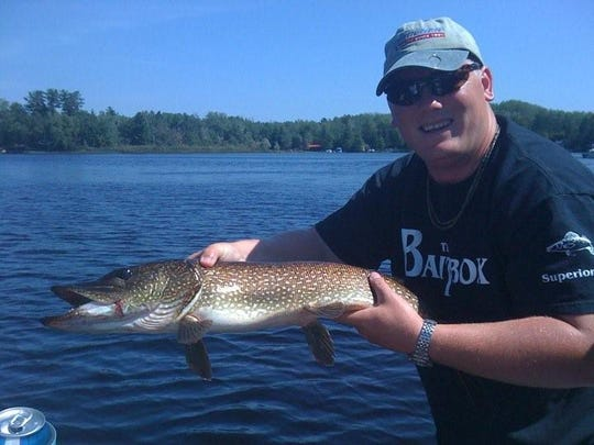 A really nice northwest Wisconsin northern pike
