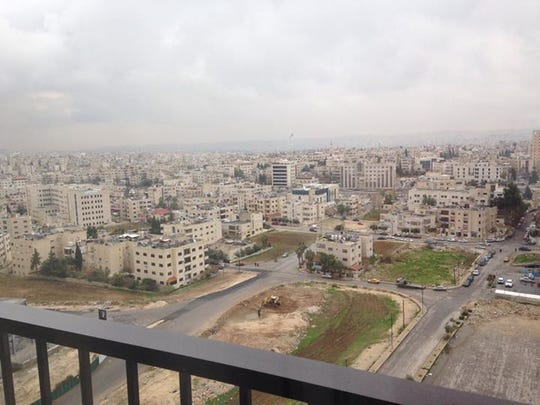 View of Amman, Jordan