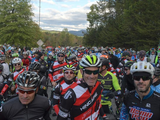 An image from the 2016 Gran Fondo Hincapie in Greenville,