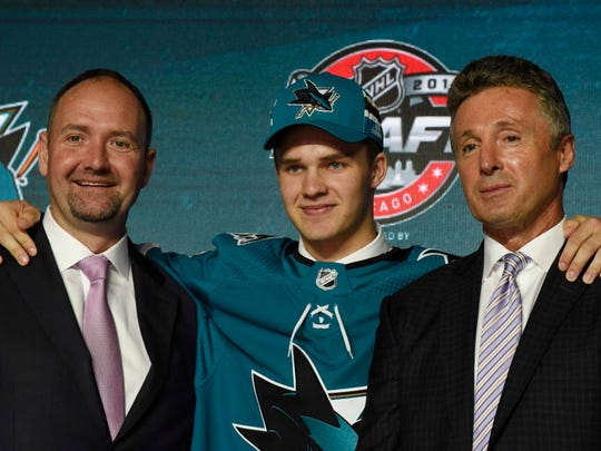 No. 19: C Josh Norris, San Jose Sharks