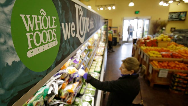 A 2014 file photo of a Whole Foods store.