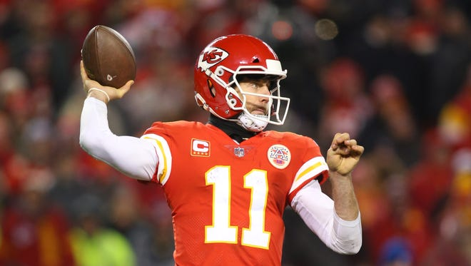 How would Alex Smith look in Cardinals colors?