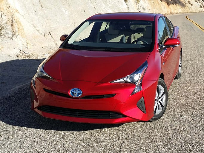 The all-new fourth-generation 2016 Prius liftback takes
