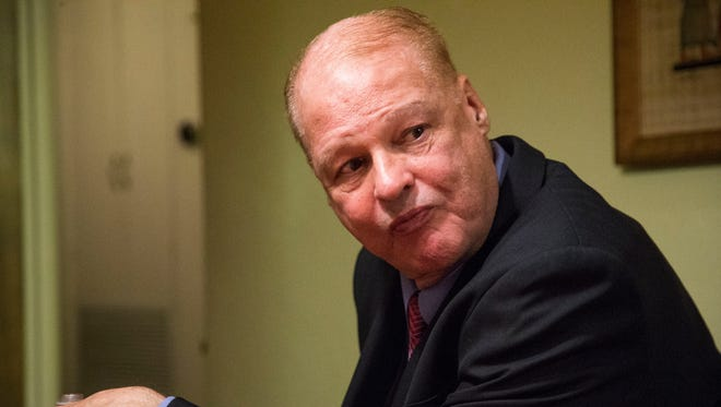 Tom Horne on primary election night.