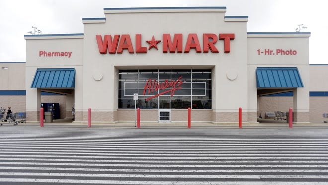 File photo of a Wal-Mart store