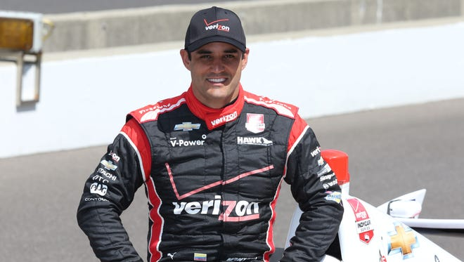 Juan Pablo Montoya finished fifth in last month's Indianapolis 500. Montoya will make his first NASCAR Sprint Cup start Sunday at Michigan.