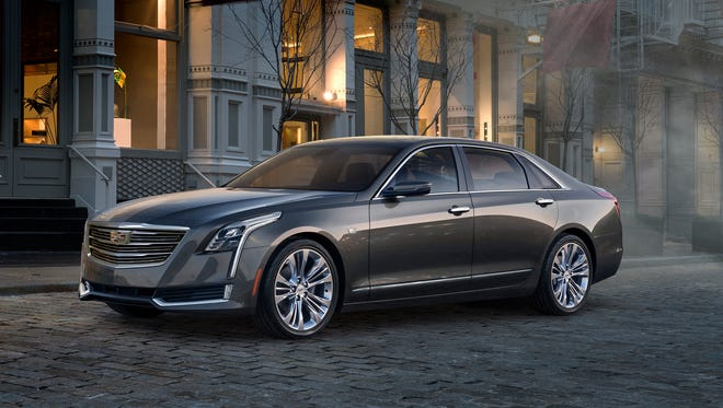 The 2016 Cadillac CT6 goes on sale in the U.S. in December, powered by a choice of V-6 gasoline engines. Cadillac said at the 2015 Shanghai auto show that there will be a plug-in hybrid version, too, for U.S., China and other markets.