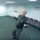 Butler County Sheriff Richard Jones dancing in a video to bring awareness to bring driving during the Super Bowl.