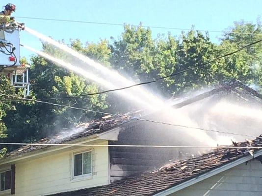 Trevor house fire